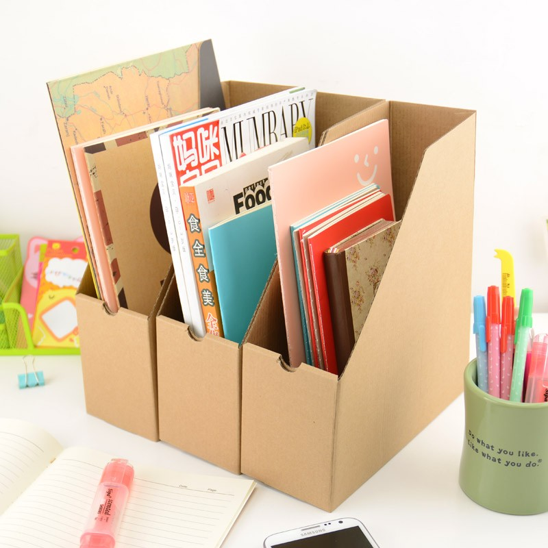 20 DIY Ideas to Organize Your Office